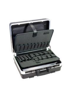 B&W Gereedschapkoffer, Servicekoffer zwart ABS-materiaal.