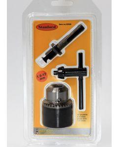 Boorkop 1.5-13mm + SDS-PLUS adapter
