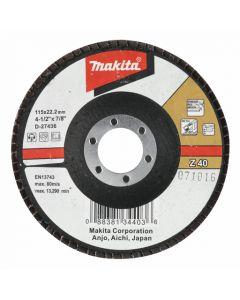 Makita D-27464 Lamellenschuurschijf 115 Z120