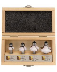 Makita D-53534 Freesset afrondfrees 8mm 4-delig