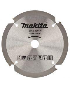 Makita D-72067 Cirkelzaagblad Vezelcementplaat