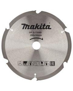 Makita D-72089 Afkortzaagblad Vezelcementplaat