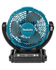 Makita DCF102Z 14,4 V / 18 V Ventilator met zwenkfunctie