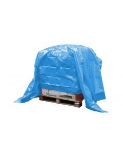 Dekkleed, afdekzeil, eco blauw 4 x 6 m.