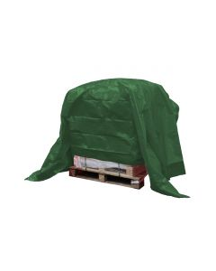 Dekkleed, afdekzeil, eco groen 4 x 6 m.
