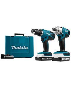 Makita DK18041 18 V Combiset boren en (slag)schroeven (G-range)