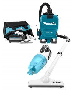 Makita DLX2248PT1 18 V Combiset voor stofvrij én snoerloos werken