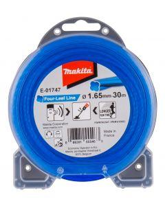 Makita E-01747 Maaidraad 1,65x30 meter blauw
