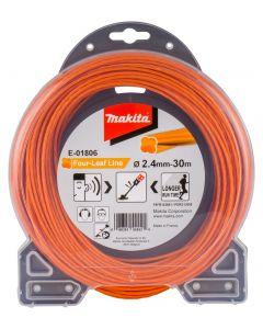 Makita E-01806 Maaidraad 2,4x30mtr oranje