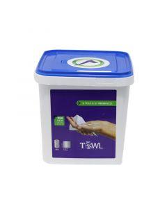 Towl Hygiënische doekjes met 70% alcohol  350 st.