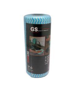 GS Schoonmaakdoekjes, cleaning wipes op rol, 40285