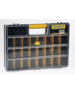 STOCKBOX Assortimentskoffer, organizer, kunststof koffer
