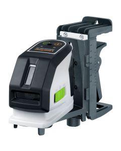 Laserliner MasterCross-Laser 2GP Kruislijnlaserset in koffer - 2 lijnen - Groen - 031.390A
