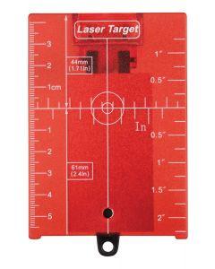 Makita LE00758831 Laserrichtplaat rood