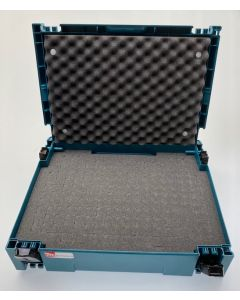 Makita Mbox nr.1 + Pixel Foam Pick&Pluck inlay + Foam Deksel Inzetstuk