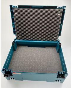 Makita Mbox nr.2 + Pixel Foam Pick&Pluck inlay + Foam Deksel Inzetstuk