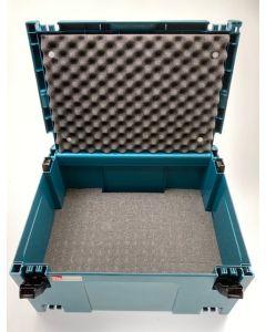 Makita Mbox nr.3 + Pixel Foam Pick&Pluck inlay + Foam Deksel Inzetstuk