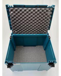 Makita Mbox nr.4 + Pixel Foam Pick&Pluck inlay + Foam Deksel Inzetstuk