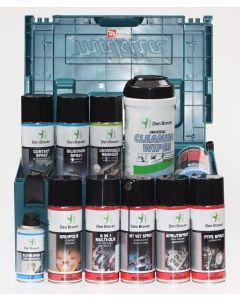 Actiepakket smeermiddelen, reinigingsmiddelen in Mbox