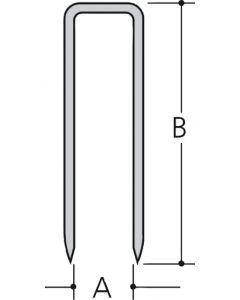 Makita F-32917 Niet 8mm 10,0x0,6x1,2mm