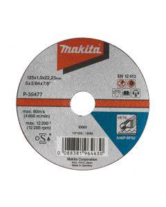 Makita P-05739 Doorslijpsch. 115x2,5mm metaal