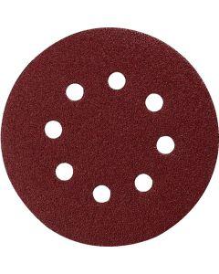 Makita P-43555 Schuurschijf 125mm K80 Red Velcro