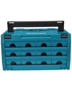 Makita P-84327 Makstor 3.12 Mbox systainer met 12 lades