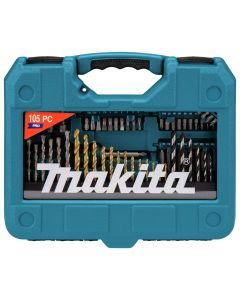 Makita P-90364 Boor-/schroefbitset 105-delig