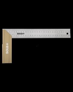 Sola Winkelhaak SRB500 ALU/RVS 500x170 mm.