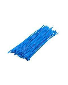 DX Bundelbanden / Tiewrap  3.6 x 200 mm, Blauw