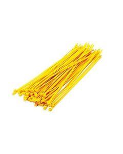 DX Bundelbanden / Tiewrap  3.6 x 200 mm, Geel
