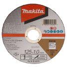 Makita E-03040 Doorslijpschijf 125x22,23x1,0mm RVS