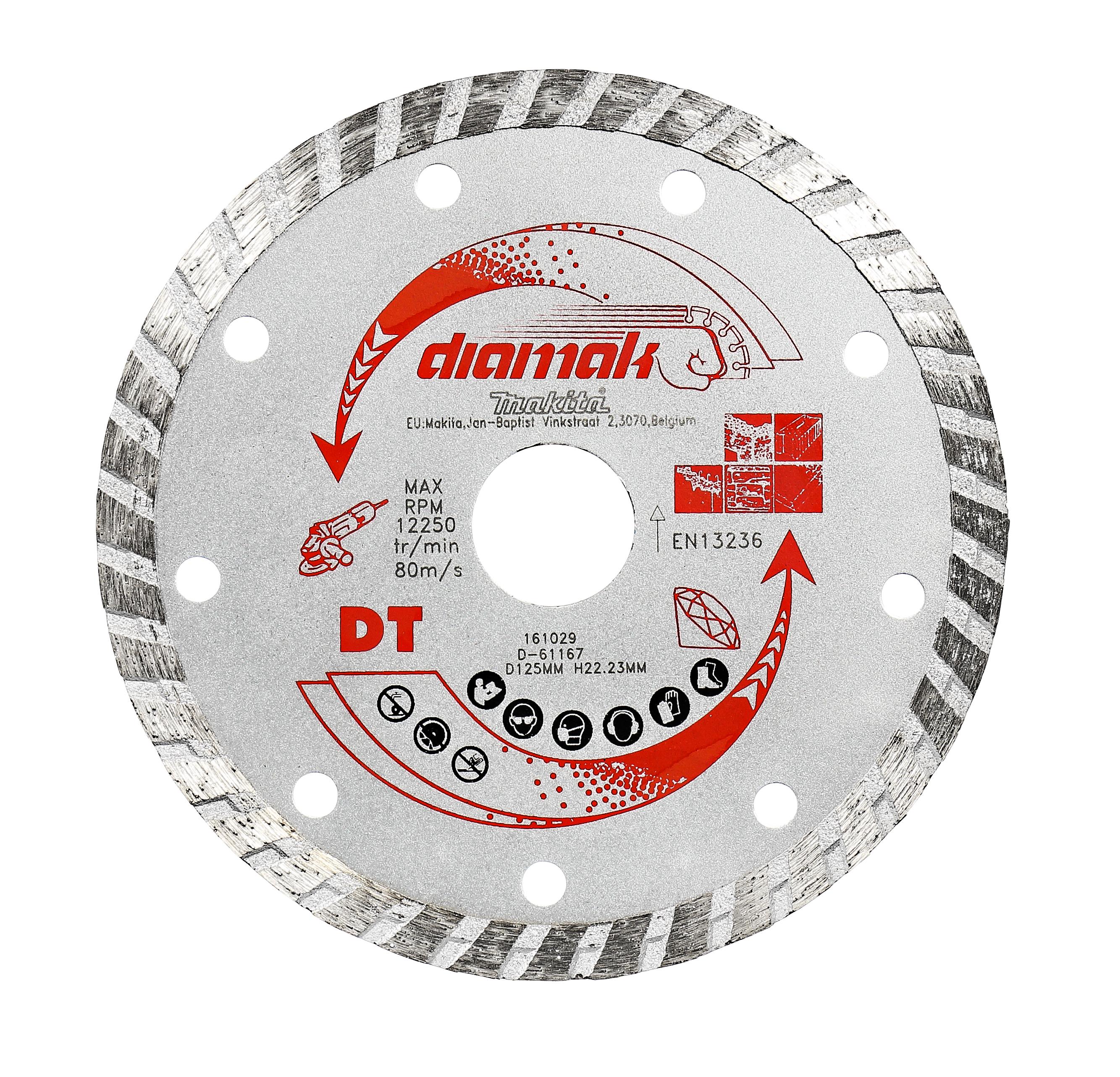 Makita D-61151 Diamantschijf 115x22,23x2,2mm | Mtools