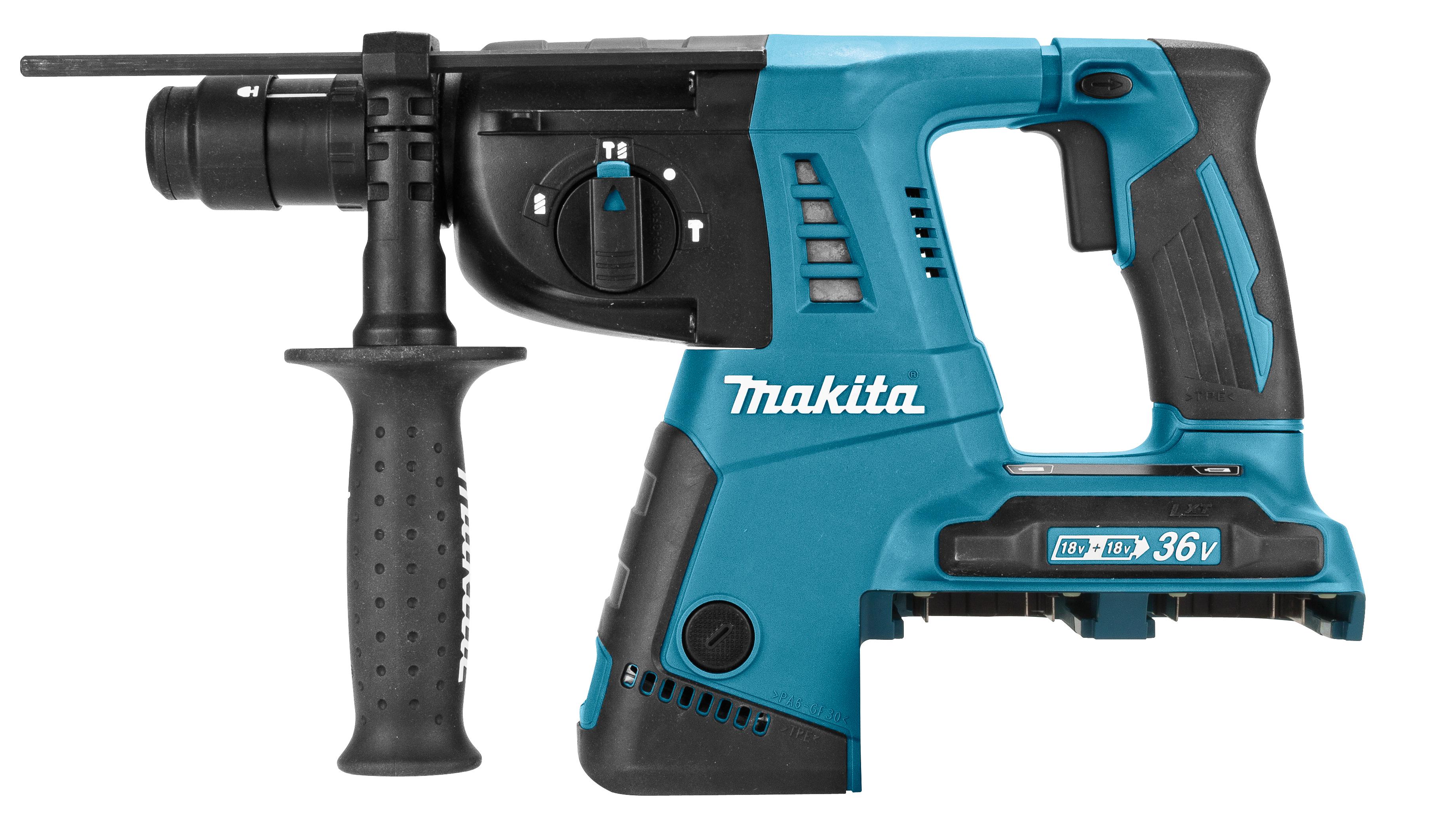 Makita DHR264- 2x 18 V SDS-PLUS Combihamer