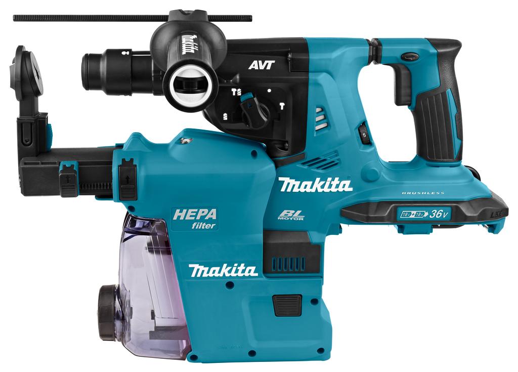 Makita DHR283- 2x 18 V SDS-PLUS Combihamer