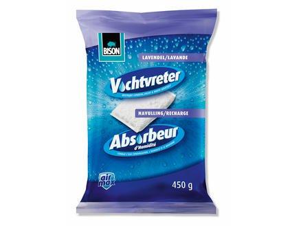 Bison Vochtvreter Airmax Navulzak Lavendel 450g | Mtools