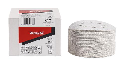 Makita P-37384 Schuurschijf 125mm K40 White Velcro | Mtools