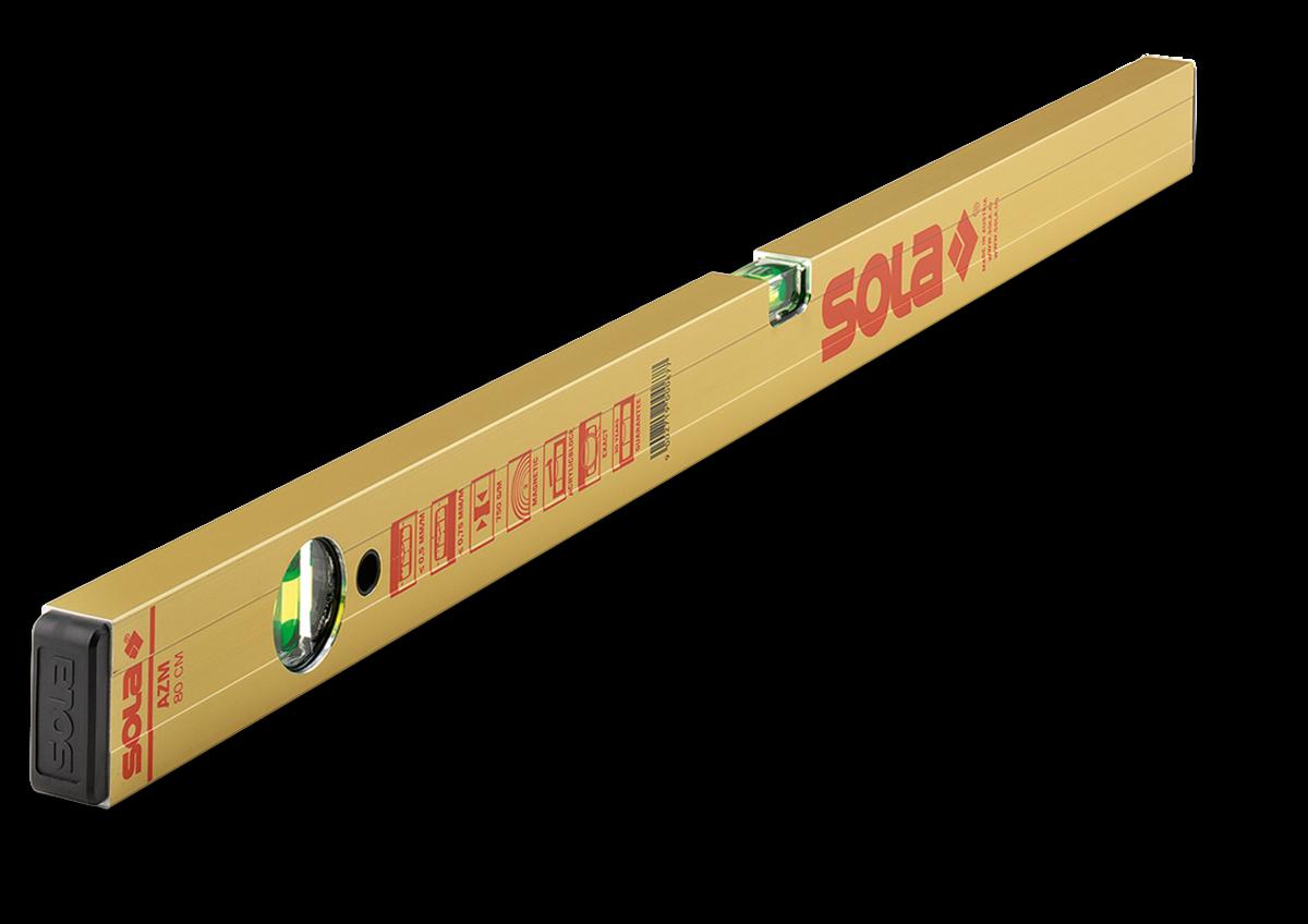 Sola AZM100 Blokwaterpas Magnetisch 100 cm (2 libellen) | Mtools