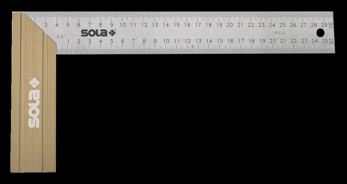 Sola Winkelhaak SRB300 ALU/RVS 300x145 mm.   Mtools