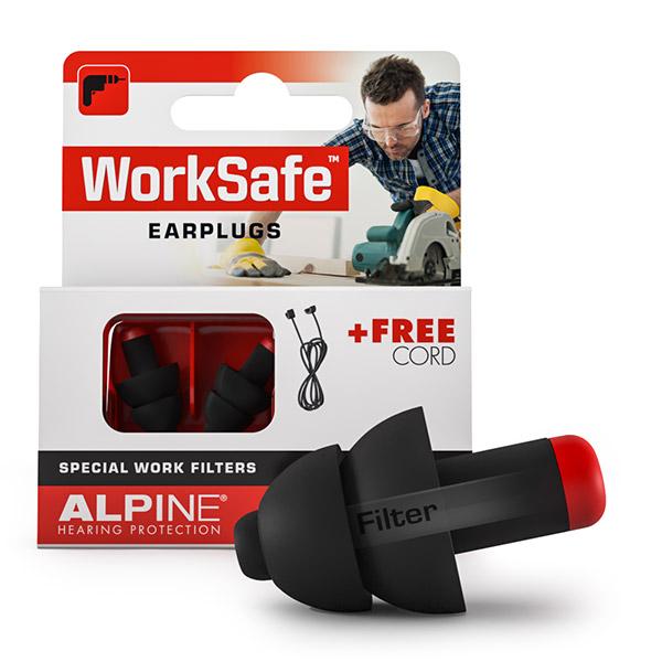 WorkSafe- Alpine ® - Klus oordoppen - 1 paar (23 dB)   Mtools