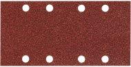 Schuurvel 93x185 mm. red velcro