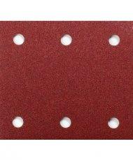 Schuurvel 114 x 102 mm red velcro