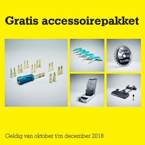 gratis accessoirepakket